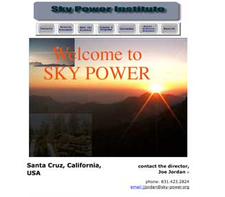 skypower web page